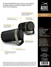 Altec Lansing BXR1220 2-Piece Desktop Speaker System