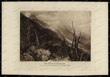 Druck-Stahlstich-Engraving-J.M.W. Turner-The Valley of Chamouni-Allen & Co-70