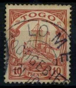 Togo 1900 SG#G9, 10pf Carmine No Wmk Used #E22285