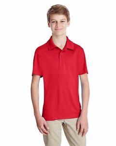 Team 365 Youth Dri-Fit UV Protection Moisture Wicking Polo Shirt M-TT51Y