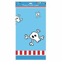 Boys Pirate Birthday Party Plastic Table Cover Tablecloth Tableware Decor Skull