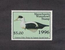 MA23 - Massachusetts State Duck Stamp.   Single. MNH. OG.
