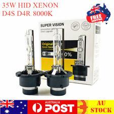 D4S D4R HID Xenon Headlight 8000K Globes For Toyota Camry Corolla Mazda Subaru