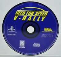 Need for Speed: V-Rally (Sony PlayStation 1, 1997) PS1 PSOne PSX PS2 Video Game