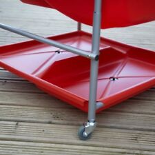 2 x TP Toys TP103 Red Storage Shelf - with drain plugs