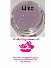 Lilac Minerals Eyeshadow Bare Makeup Lavender Eye Shadow Full Size New/Sealed