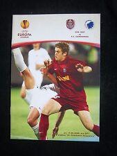 Orig.PRG   Europa League   2009/10   CFR CLUJ - FC KOPENHAGEN  !!  SELTEN