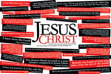36 QUOTES ABOUT JESUS CHRIST Christian Inspirational Wall Poster