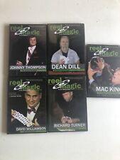 Tours de magie expliqués Reel Magic magazine en DVD originaux (Anglais)