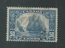 "CANADA # 158 Used SAILING SHIP ""BLUENOSE""  (0398)"