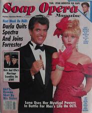 JIM STORM & SCHAE HARRISON November 17, 1992 SOAP OPERA Magazine TONYA PINKINS