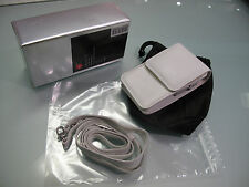 ULTRA RARE LEICA CASE  C-LUX 3 WHITE  ART 18698 IN MINT CONDITIONS