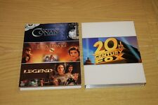 Cofanetto 3 DVD - Conan il Barbaro- Ladyhawke -Legend DVD ORIGINALE 20th Century
