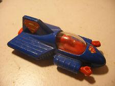 CORGI junior 1979 DC Comics SUPERMOBILE SUPERMAN CAR Voiture 3inches Bleu Foncé