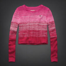 New Hollister Vintage Sweater Woodson Mountain Womens Pink Large
