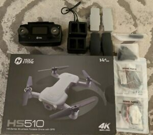 Holy Stone Hs510 New Mini Drone Bundle w/ 4 Extra Batteries, Controller, & More