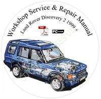 Land Rover Discovery II Service & Repair Workshop Manual