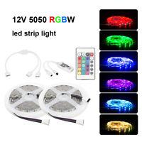 10M RGBW 5050 SMD LED Stripe Leiste Streifen Band WiFi APP Alexa Fernbedienung