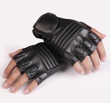 Unisex Half Finger Motorcycle Riding Gloves