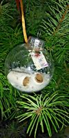 HAND CRAFTED 2020 GIFT TAG CHRISTMAS TREE BALL ORNAMENT SNOW TOILET PAPER