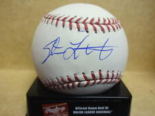 STEVE LUBRATICH CALIFORNIA ANGELS SIGNED M.L. BASEBALL W/COA
