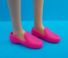 Barbie Shoes Fashionistas Pink Flats Loafers Also Fit PETITE & Skipper Dolls