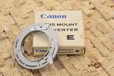 Canon Lens Mount Converter E Exakta EXA lens to Canon FL/FD Infinity Focus #1933
