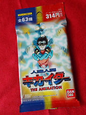 NEW! ANIME ANDROID KIKAIDER TRADING CARDS / 10 CARDS PACK / UK DESPATCH