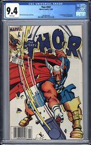 Thor (1983) # 337 CGC 9.4 WP NM Newsstand - 1st Beta Ray Bill - white pages