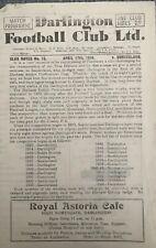 More details for darlington v sunderland - durham professional cup final - 1949/50