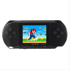 US STOCK PXP3 Black Game Console Handheld Portable 16 Bit Retro Video Games Gift