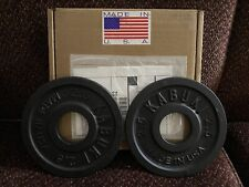 Kabuki Strength 2.5lbs Change Plates Made In Usa Iron plates