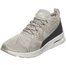 f773a5086b1 Women s Nike Air Max Thea Ultra Flyknit Shoes Size 9.5 881175 005 Gray New  White