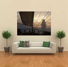 Bateaux à voile mer nouveau mur Poster géant image impression artistique G174