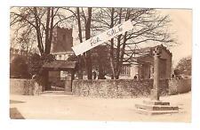 RP Giggleswick Church Card Embossed A Horner New Street Settle