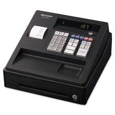 Sharp XE A107 Cash Register, Drum Printer, 80 Lookups, 4 Clerks, LED - SHRXEA107