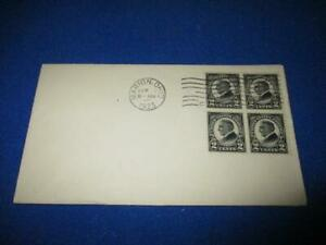 US SCOTT# 610 FDC, BLOCK OF 4