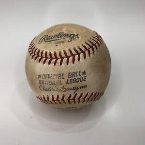 Rawlings Official National League MLB Baseball Charles Feeney President Vintage