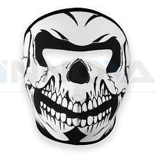 Máscara de Cráneo Facial Completa Esqueleto De Neopreno Reversible Motocicleta Motor Bicicleta de esquí de cuatro