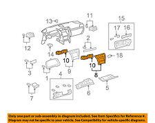 Lexus TOYOTA OEM 10-12 LS460 Instrument Panel Dash-Center Bezel 5540550120