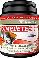 Dennerle Premium Alimento Peces: completo menú gourmet 200ml Para Todos Los Peces