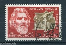 FRANCE 1968, timbre 1552, CELEBRITE, PAUL PIERRE ROUX, oblitéré