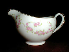 Alfred Meakin Glo-White Ironstone Pink Swag HARMONY ROSE Creamer