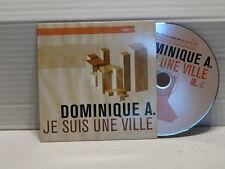 DOMINIQUE A Je suis une ville CD Single PROMO mono titre