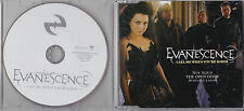 MAXI CD SINGLE COLLECTOR 1 TITRE EVANESCENCE CALL ME WHEN YOU'RE SOBER 2006