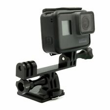 Aluminium Dual Head Bracket Joint Mount Adapter for LED Light GoPro Hero 4 5 6