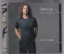 KENNY G - THE MOMENT/2 TRACK - PROMO MAXI CD + INFOBLATT -  CD WIE NEU! MINT!