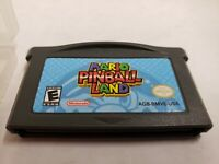 Mario Pinball Land Nintendo Gameboy Advance GBA Authentic Tested FREE SHIPP