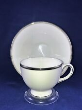 Wedgwood Bone China Sterling Tea Cup and Saucer