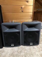 2X Peavey PR12 Passive Speaker Pair Speakers